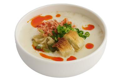 鹹豆漿(ねぎorパクチー)